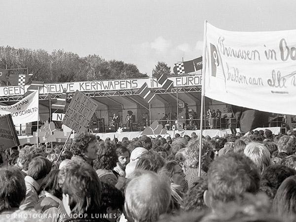 Uit de oude doos (1): Vredesdemonstratie Den Haag 1983