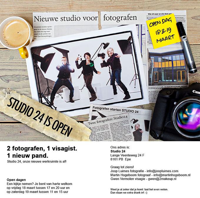 Open Huis: Studio 24