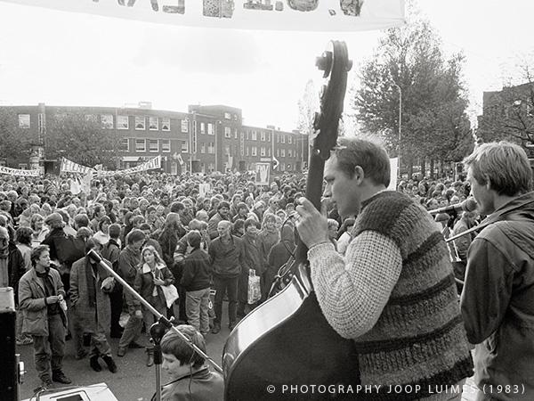 Uit de oude doos (5): Vredesdemonstratie Den Haag 1983