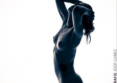 Joop Luimes silhouet vrouwelijk naakt_3063