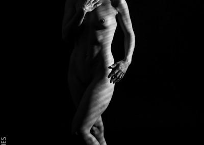 Joop Luimes vrouw naakt staand_1617