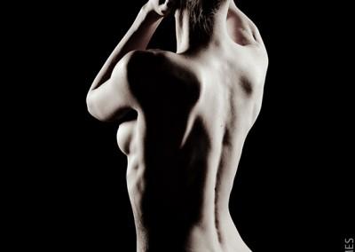 Joop Luimes vrouwelijk naakt staand_3204
