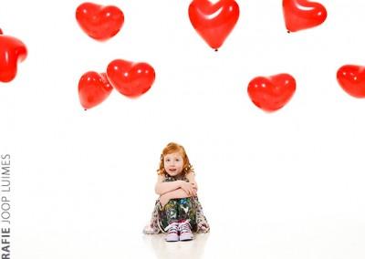Joop Luimes portret meisje met balonnen_0126