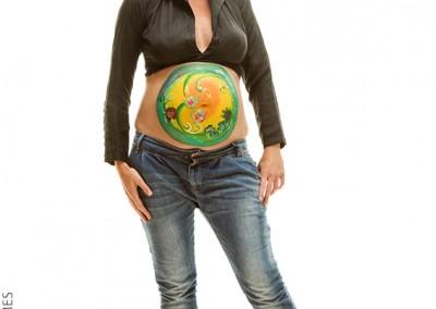 Joop Luimes zwanger bellypaint_6612